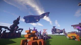 Minecraft Halo Showcase - CRS Cruiser