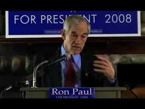 Ron Paul Seattle Economic Speech 2 of 6  [1-31-08]