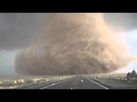 Extreme up close video of tornado near Wray, CO!   YouTube