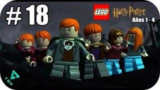 LEGO Harry Potter Años 1-4 - Capitulo 18 - El Cáliz de Fuego - 1080p HD