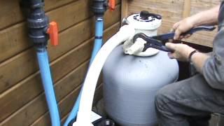 Zandfilter installatie