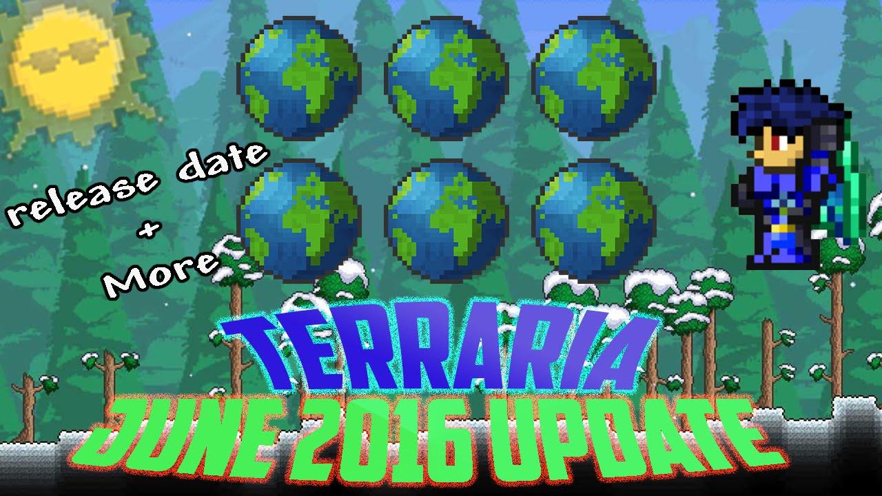 Terraria release date in Brisbane