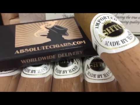 Ashton Cigars. International Shipping