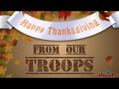 DVIDS Videos of the Day – Thanksgiving 2017