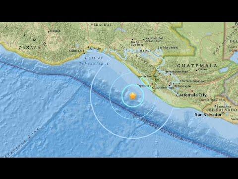 Sismo de magnitud 6,8 en el Pacífico al suroeste de México