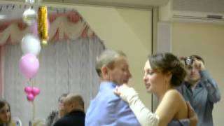 Катя Пак поёт на свадьбе(без ума)
