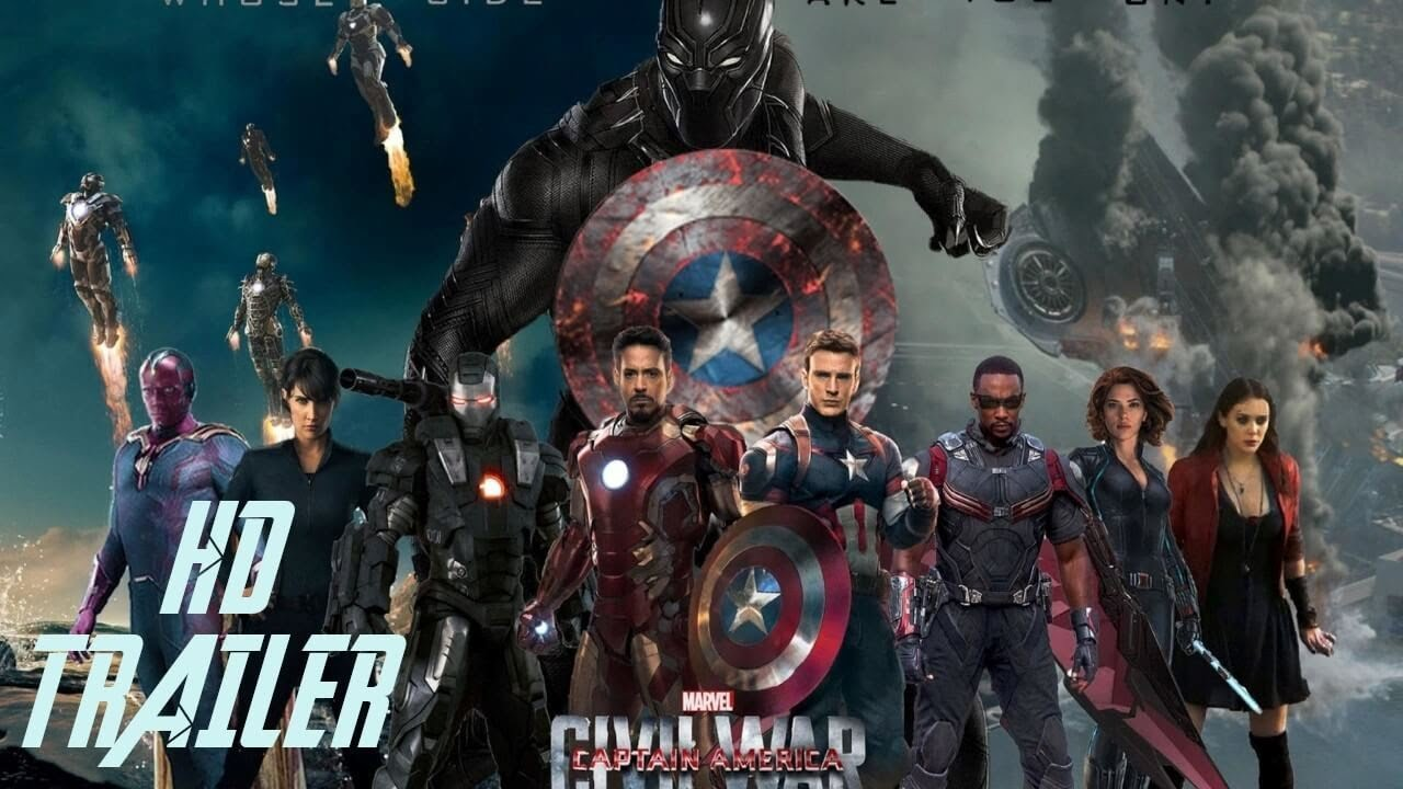 The First Avenger Civil War   Trailer • HeldenWiki