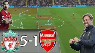 How Klopp's Genius Tactics Inspired Liverpool To Destroy Arsenal: Liverpool vs Arsenal - Analysis