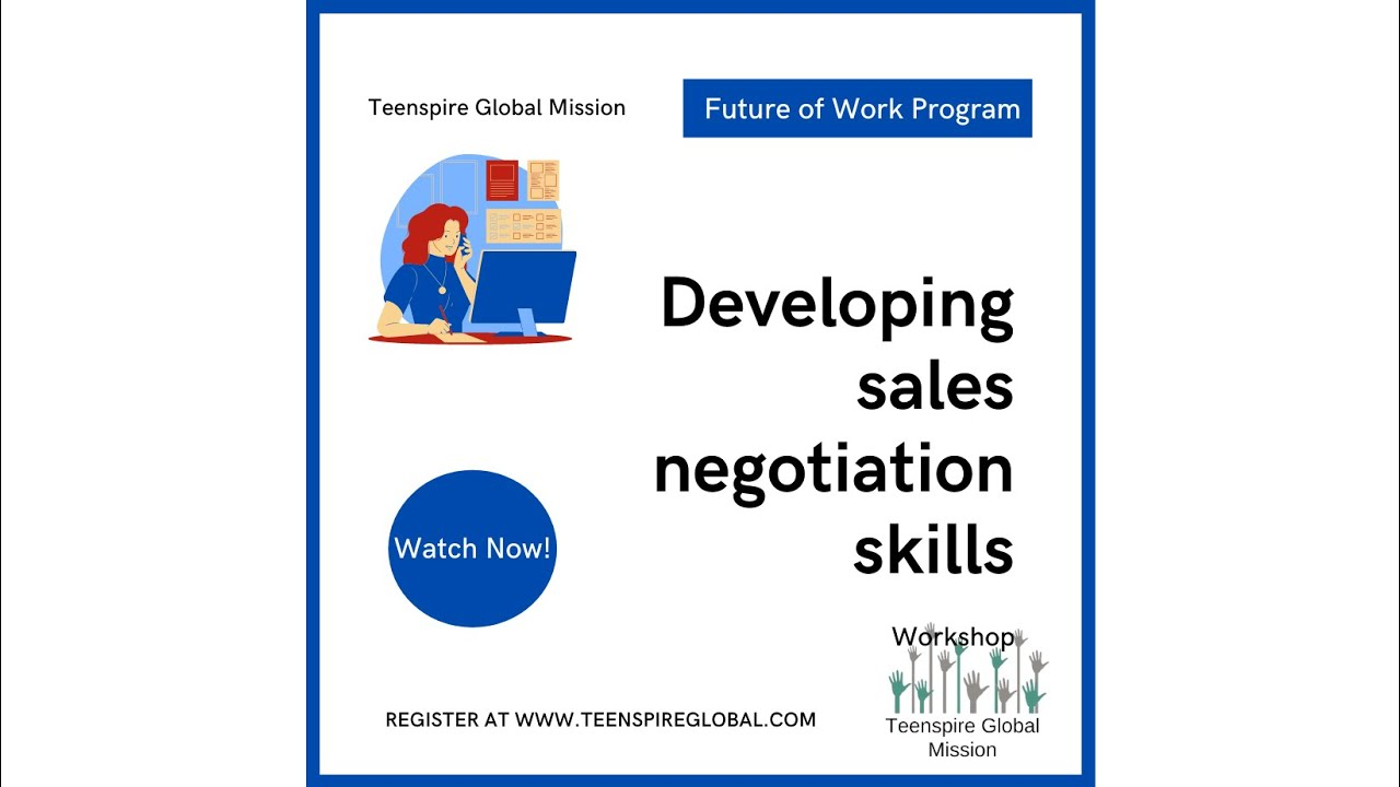 Future of Work: Developing Sales Negotiation Skills