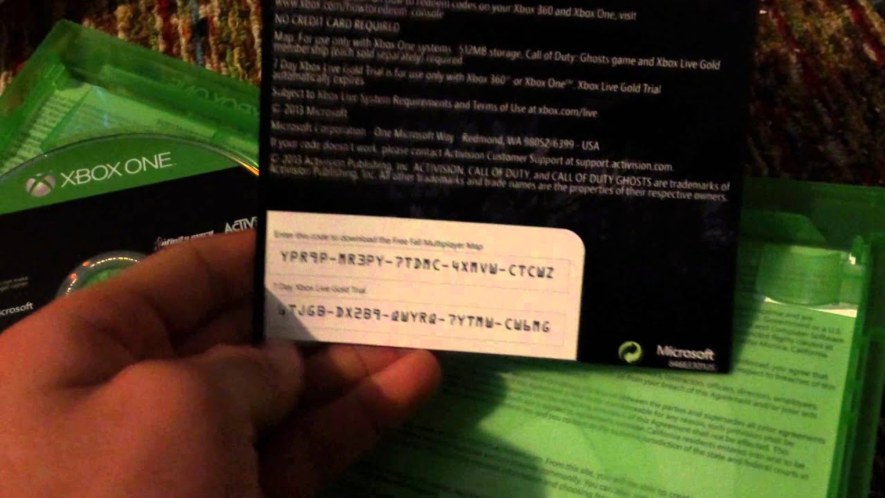 Minecraft Xbox One And Call Of Duty Ghosts Unboxing 7