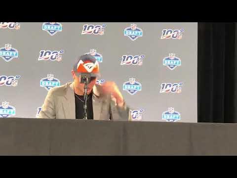 Drew Lock Denver Broncos 2019 NFL Draft 2nd Round Pick Interview
