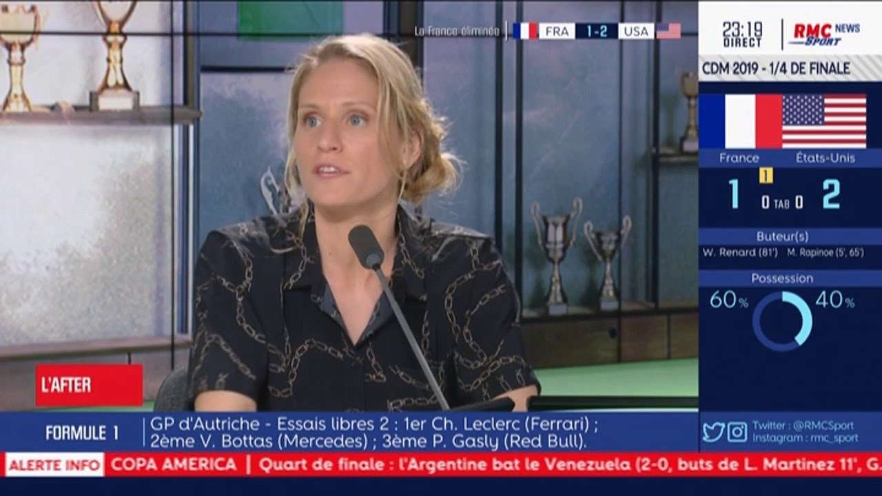 Equipe De France Feminine Lepailleur Cette Equipe Regresse Pause Fun