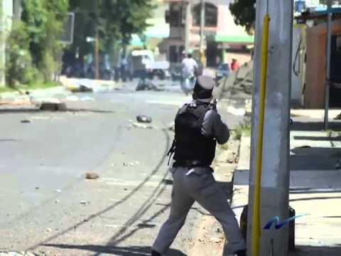 Foto-crónica: Semana violenta en Bonao, Salcedo y Barahona