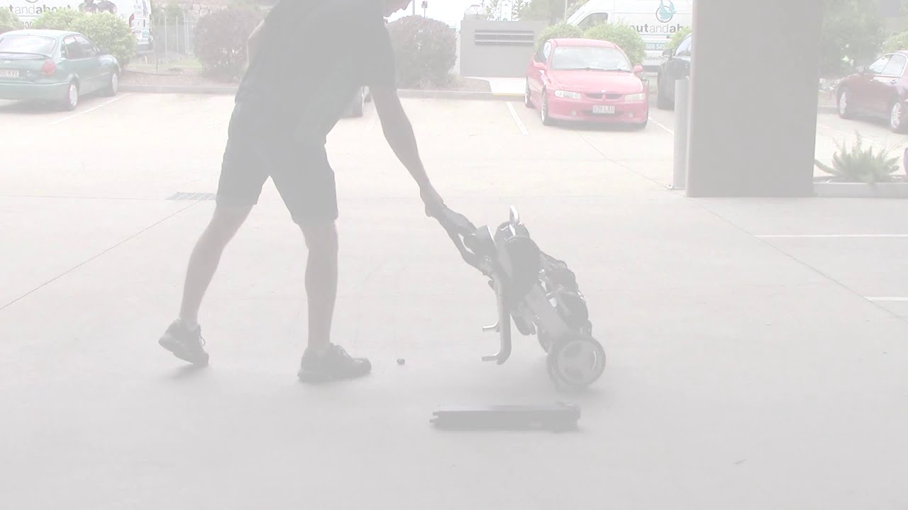 Smartie portable folding electric wheelchair youtube Portable motorized wheelchair