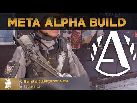 Barrett's Bulletproof Vest 1.5 AlphaBridge SMG Build | The Division