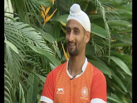 Hockey World Cup 2018 - Manpreet Singh & Mandeep Singh in Hum Taiyar Hai| DD Sports