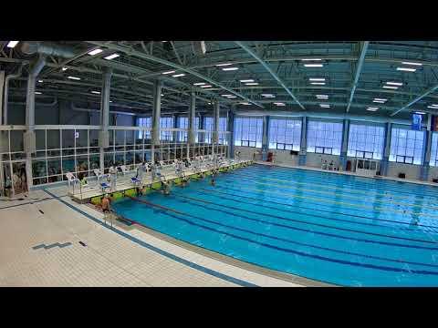 видео: 26.01.2019 100 м спина. Сильнейший мужской заплыв.