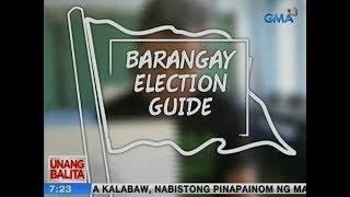 UB: Barangay election guide