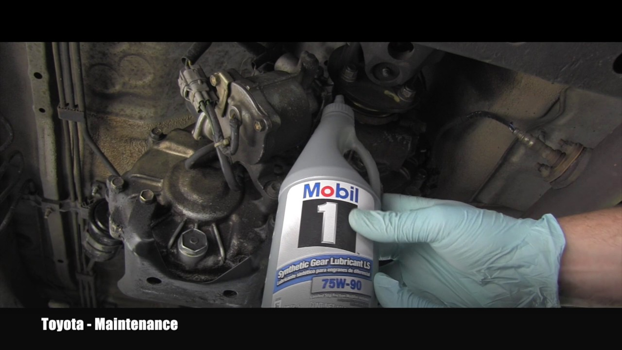 2017 Toyota 4runner >> Toyota 4Runner Transfer Case Oil Change - YouTube