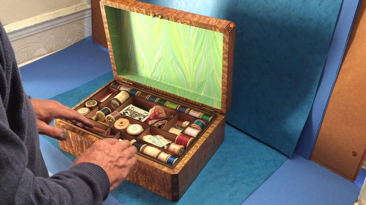 & Victorian Sewing Box - YouTube Aboutintivar.Com