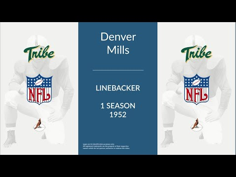 Denver Mills: Football Linebacker