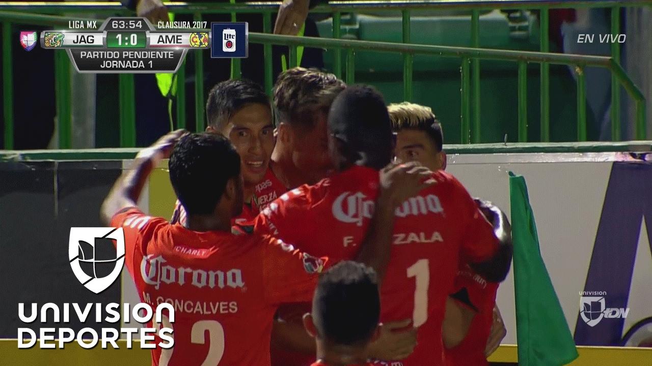 Do-Do-Dosss Santos: golazo de Jonathan para abrir el marcador en ...