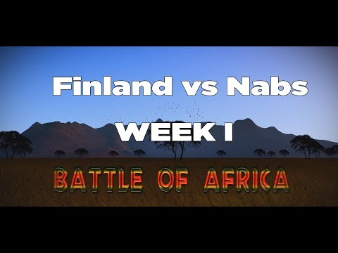 Battle of Africa - Finland vs Nabs Week I - for a reason we love this game