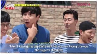 RUNNING MAN Song Joong Ki And Lee Kwang Soo Have A Remarkable Bromance