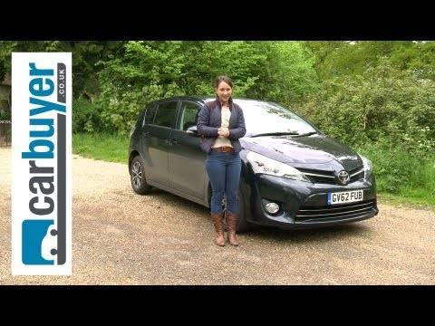 Toyota Verso MPV 2013 review - CarBuyer
