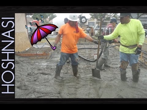 It Rained On Concrete Day!