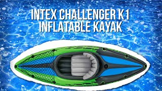 INTEX Challenger K1 Inflatable Kayak Review || #RVLife