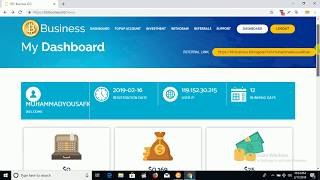 Btcbusiness.ltd   Bitcoin investment site Fully Scam Dont invest.