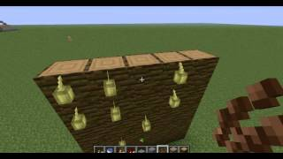 Working Redstone - Ep4 - Single Piston Cocoa bean farm +Bonus: Wheat Farm Hybrid