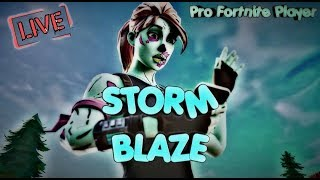 *Hosting Customs* - PRO Fortnite Player - Storm Blaze - Renegade Raider! *BLACK KNIGHT GIVEAWAY!*