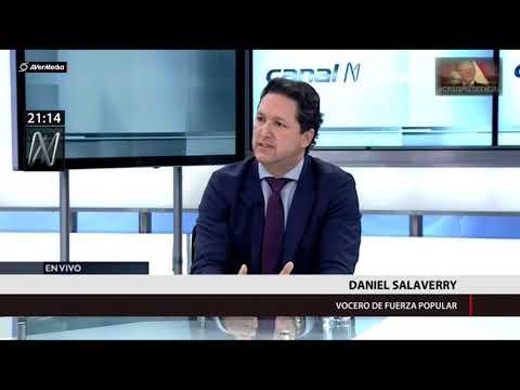 Fujimorista Salaverry no puede sustentar graves acusaciones contra Fiscalía [Canal N]