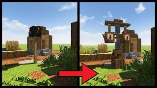 Minecraft Tutorial ► How to Transform a Minecraft Village: Lighting!