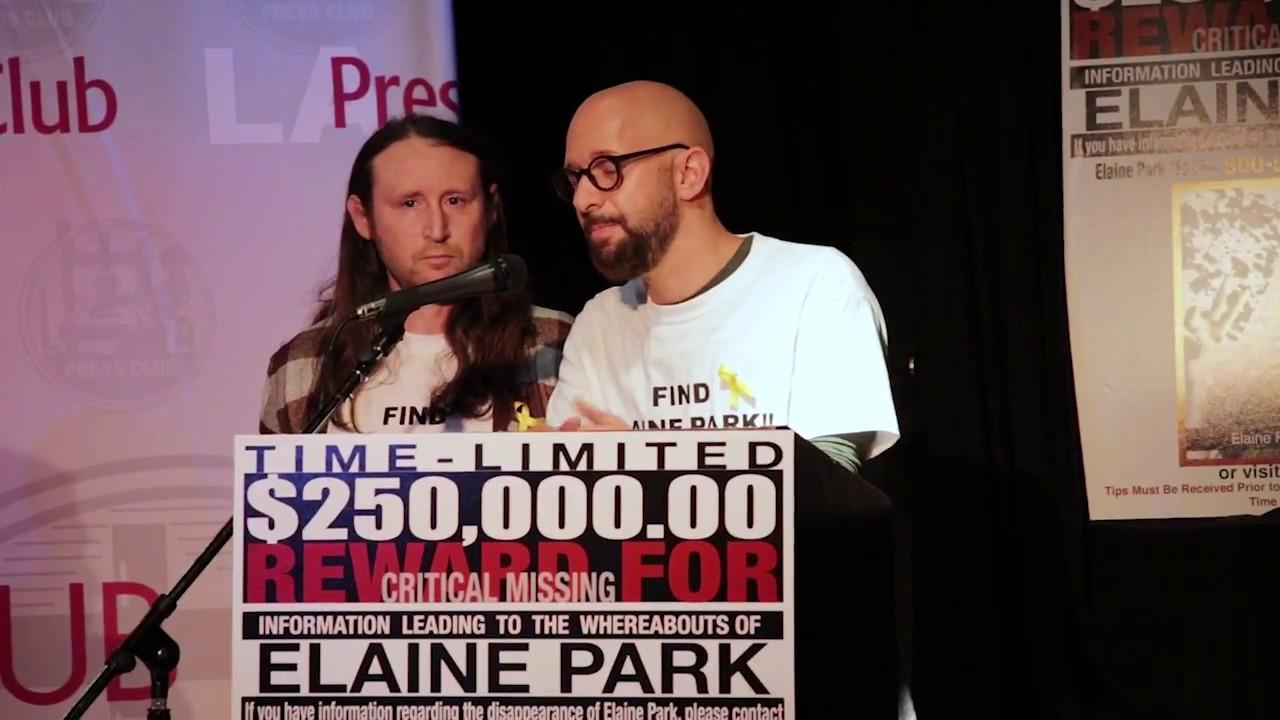 Elaine Park - Press Conference