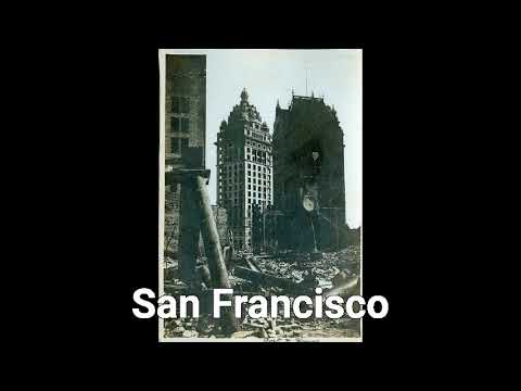 MUD FLOOD MANSIONS IN AMERICA/ SAN FRANCISCO EARTHQUAKE, GREAT CHICAGO FIRE