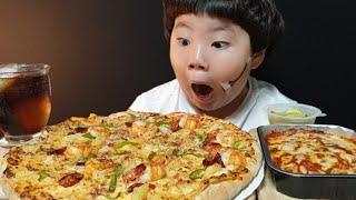 도미노피자 | 치즈 케이크 블랙타이거 피자 | 치즈 볼…