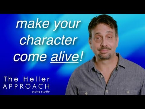 FREE ACTING LESSON: How To Be Human And Inventive