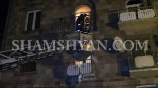 «Սասունցի Դավիթ» կայարանի հարևանությամբ գտնվող շենքերից մեկի պատշգամբը փլվել է