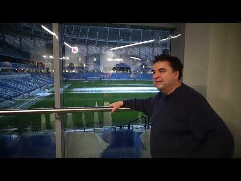 """Новый футбольный стадион """"Динамо"""" (Москва) - видеоэкскурсия"""