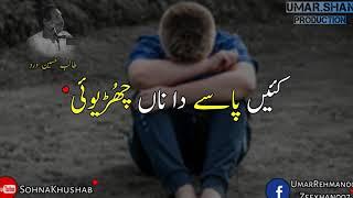 Talib hussain dard bahun changy nibhaye whatsapp status
