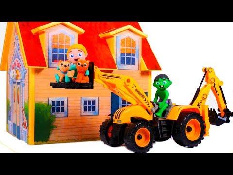 SUPERHERO BABIES SAVE THE LITTLE KITTEN 鉂� Spiderman, Hulk & Frozen Play Doh Cartoons For Kids