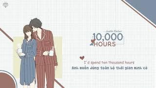 Vietsub+lyrics  Dan + Shay, Justin Bieber - 10000 Hours