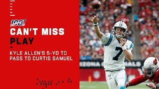 Kyle Allen Slings It to Curtis Samuel for the TD
