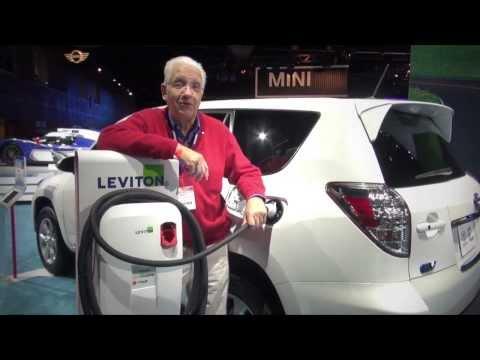 Autos electricos. Toyota Rav4 EV. Auto Show Los Angeles