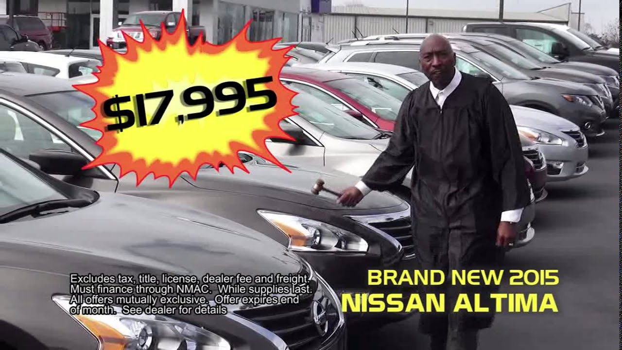 Mitchell Nissan Enterprise Al >> Return Of The Judge To Mitchell Nissan In Enterprise Al