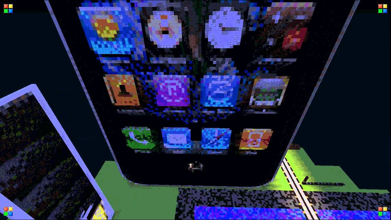 Bien-aimé Minecraft 3D IPhone Pixel Art Legit! - YouTube GZ64