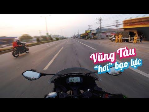 TOUR MÉM BẠO LỰC VŨNG TÀU | TRAVEL VLOG | Vietnam motovlog